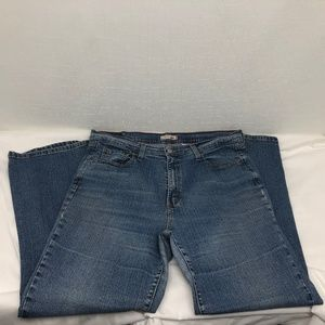 Levi's 550 Relaxed Boot Cut Jeans Size 18 A0874
